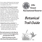 "View map ""Botanical Trail Guide"""