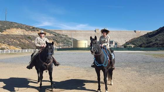 trail patrol on horseback