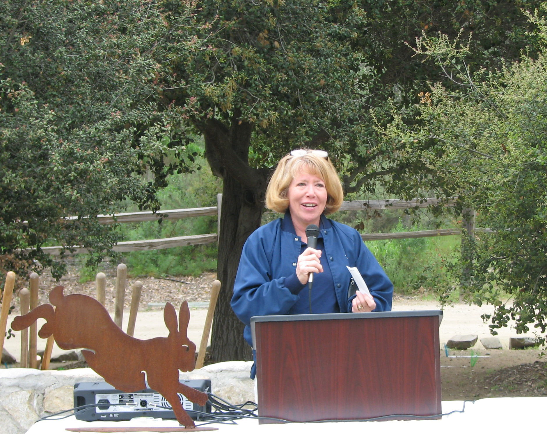 Susan J. Varty speaks at EFRR